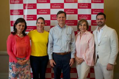 Luisa F. Rodriguez, Daniela Konietzko, Andrés Palau, Elizabeth Gutierrez